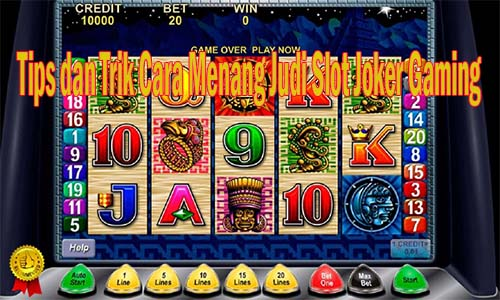 Tips Menang Slot Joker
